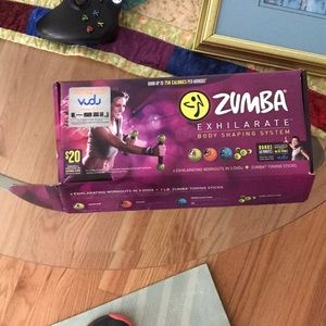 Zumba exercise kit